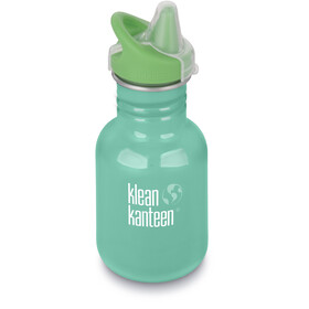 Klean Kanteen Kid Classic Bottle Sippy Cap 355ml Kids, sea crest